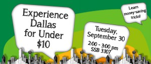 Experience Dallas Under 10 Banner Fall 2014-v.1