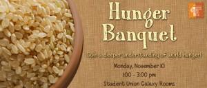 Hunger Banguet Banner Fall 2014