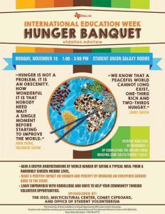 Hunger Banquet Flyer