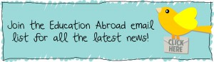 Join Education Abroad NewsLetter