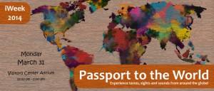 iWEEk 2014 Passport To The World Banner